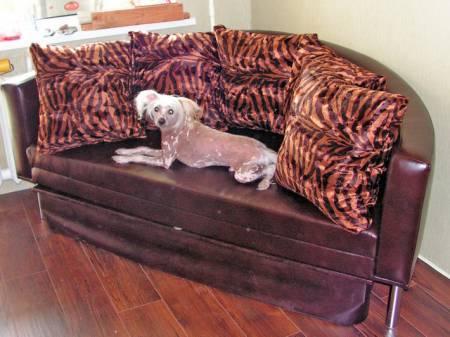 круглая кровать или круглый диван фото, диван аккордеон.
